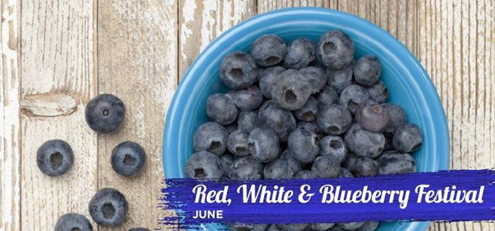 14th Annual Red, White & Blueberry Festival Set for June 1