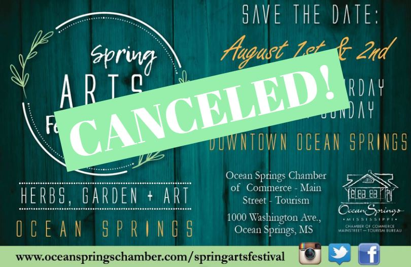27th Spring Arts Festival Canceled